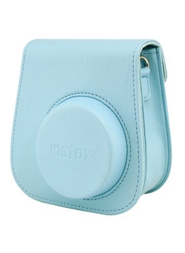 Fujifilm Instax Mini 9 Açık Mavi Deri Çanta Mavi